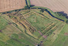 Aerial photo of Hawton Redoubt earthworks-2