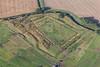 Aerial photo of Hawton Redoubt earthworks-2