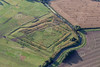 Aerial photo of Hawton Redoubt earthworks-3