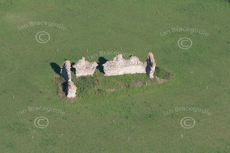 King John's Palace from the air.