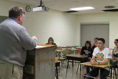 Mr. Boyd reviews safety