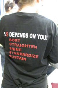 Savannah's 5s shirts!