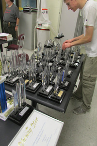 Some of the many trophies we have won over the years