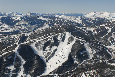 Yellowstone Club & Big Sky Ski Resort Aerial Photography by Jim R Harris