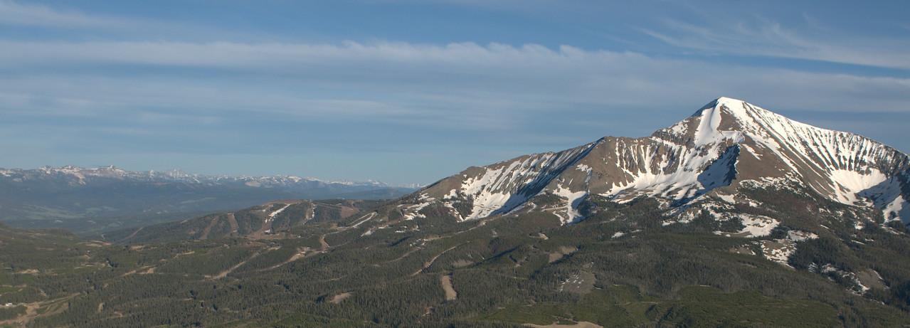 Aerial Images - Big Sky Moonlight Basin Yellowstone Club Montana