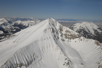 Lone Peak Aerial Photography by Jim R Harris
