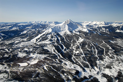 Lone Peak & Moonlight Basin Aerial Photography by Jim R Harris