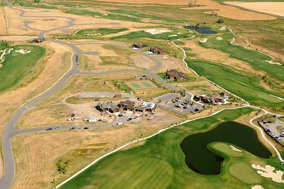 Black Bull Golf Course 2011 - Aerial Image Jim R Harris Photography