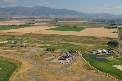 Black Bull Golf Course - Aerial Image Jim R Harris Photography 2011