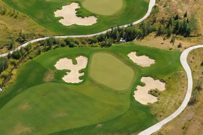 Black Bull Golf Course 2011- Aerial Image Jim R Harris Photography