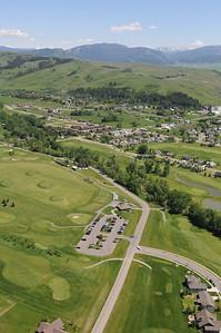 Bridger Creek Golf Course 2011- Aerial Image Jim R Harris Photography