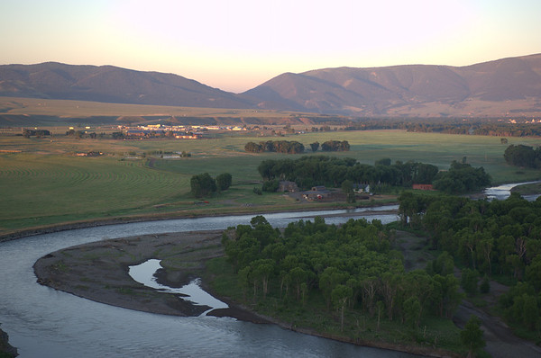 Heart K Ranch Livingston Montana Aerial Photos