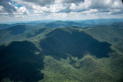 Big Mountains in Northwest Rabun County