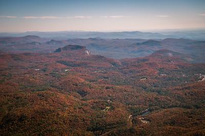Whiteside and Blackrock near HIghlands, NC