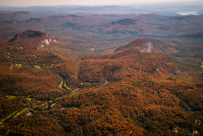 Whiteside Mountain and Blackrock Mountain, Highlands, NC