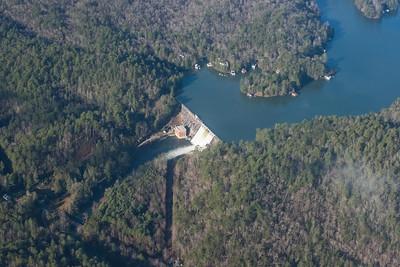 Lake Burton Dam