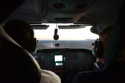 On final approach to runway 20 at Toccoa, R.G. Letourneau field KTOC