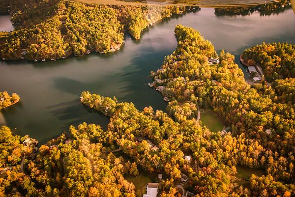 Oct 29 2015 aerials Large Fall Foliage