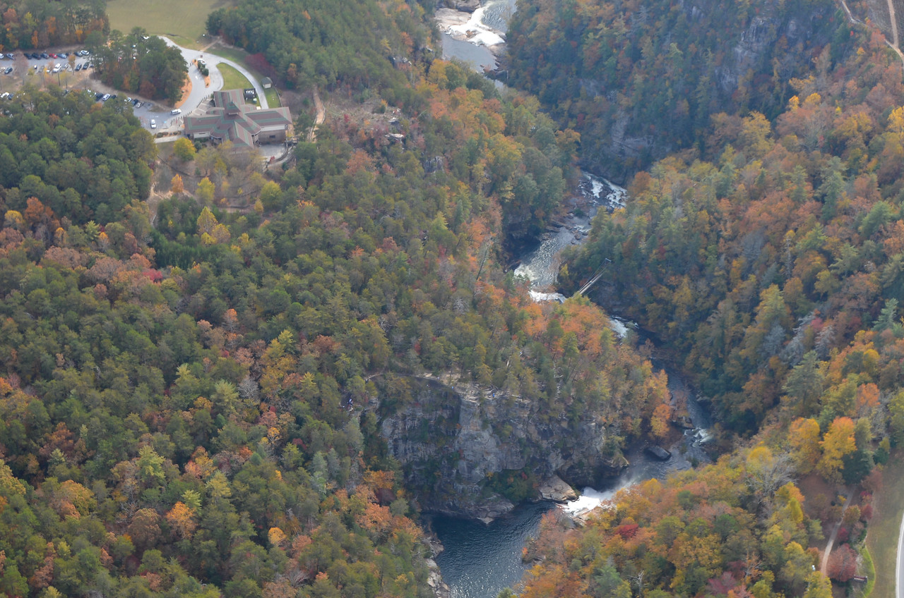 View into Tallulah Gorge