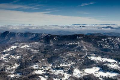 Scaly Mountain, NC with King Mountain