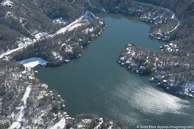 Lake Rabun - Spillway Basin