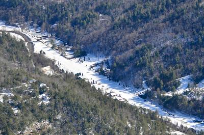 Big Creek Flying Ranch in Snow