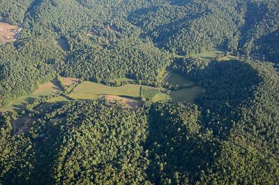 Farm on Persimmon Creek, Rabun County, Georgia