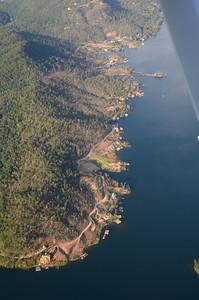 Tornado damage on Timpson Cove, Lake Burton
