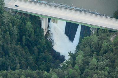 Tallulah Lake dam