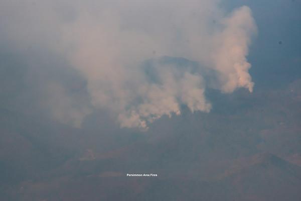 Wildfires in Rabun Co 111216