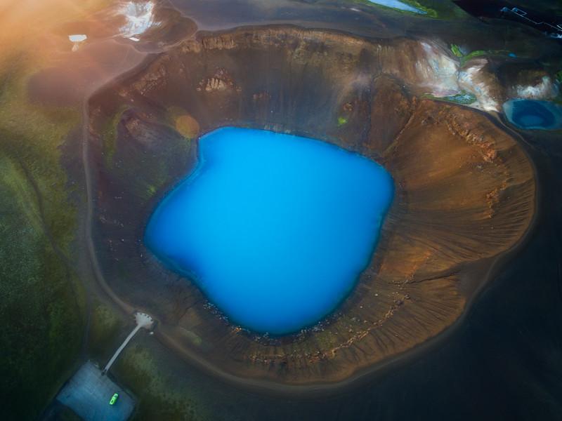 Viti Crater, Iceland