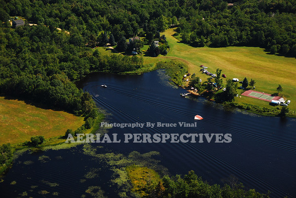 Adams Pond - Private water skiing pond near or in Barre Ma.