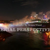 A view of Niagara Falls from The Rainbow Bridge