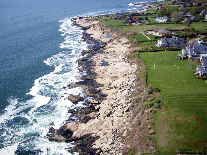 The shore off Ocean Rd.