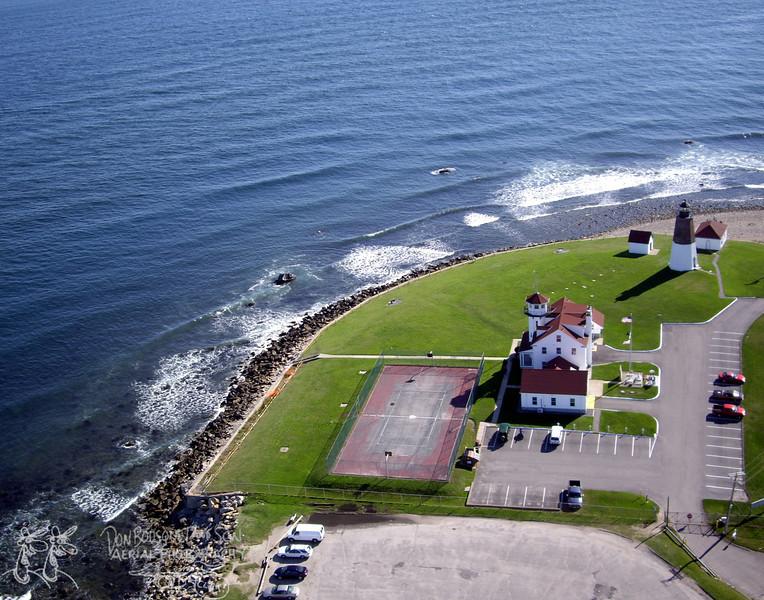Coast Guard station at Pt. Judith