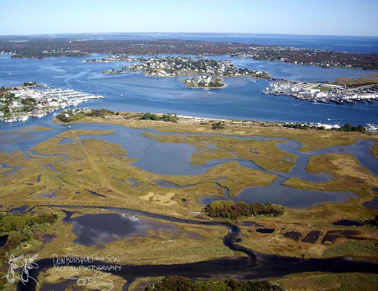 Succotash Marsh, Great Island