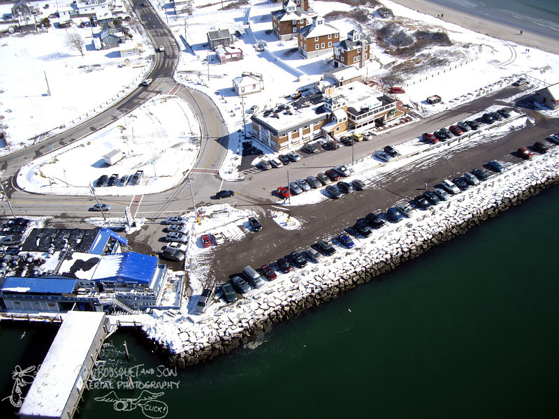 Champlin's and George's in winter