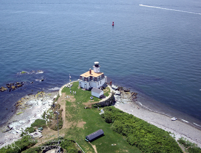 Rose Island lighthouse