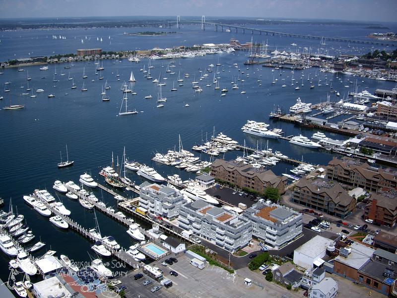 Newport Harbor off Thames St