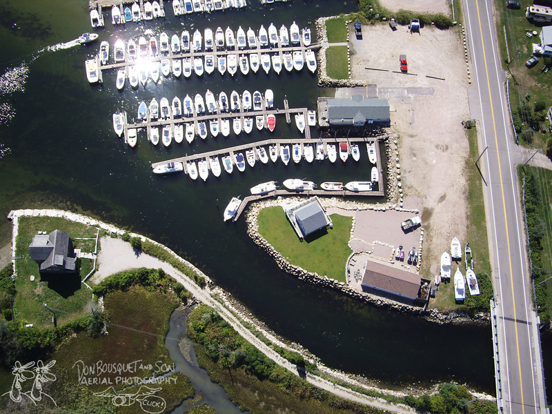 Over Lockwood Marina