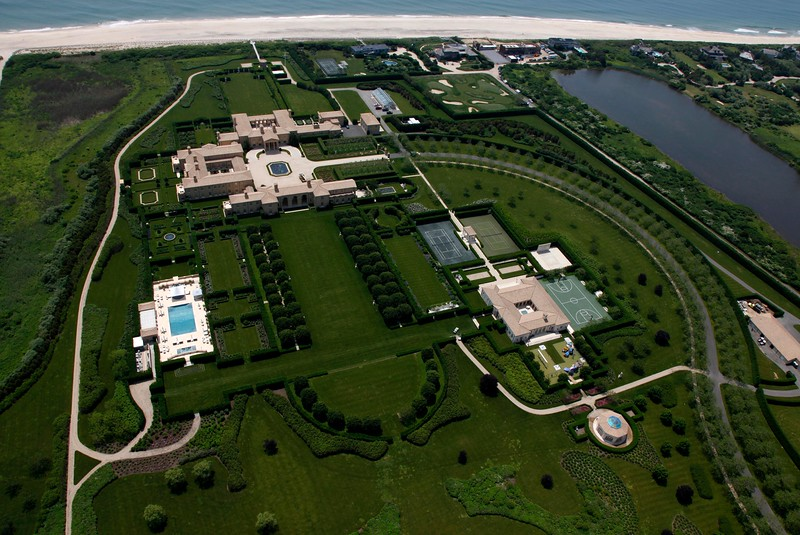 Ira Rennerts compound in Sagaponack