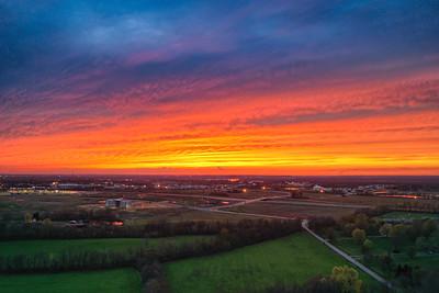 Daviess Co Sunset