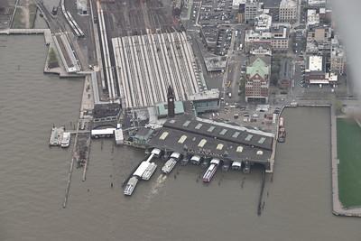 Hoboken commuter terminal