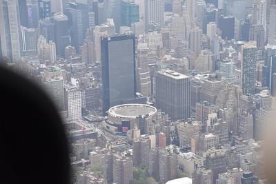 Closer shot of Madison Square Garden