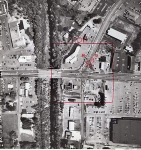 Intersection of Wards Road, Sheffield Drive and Candler's Mountain Road (06070)