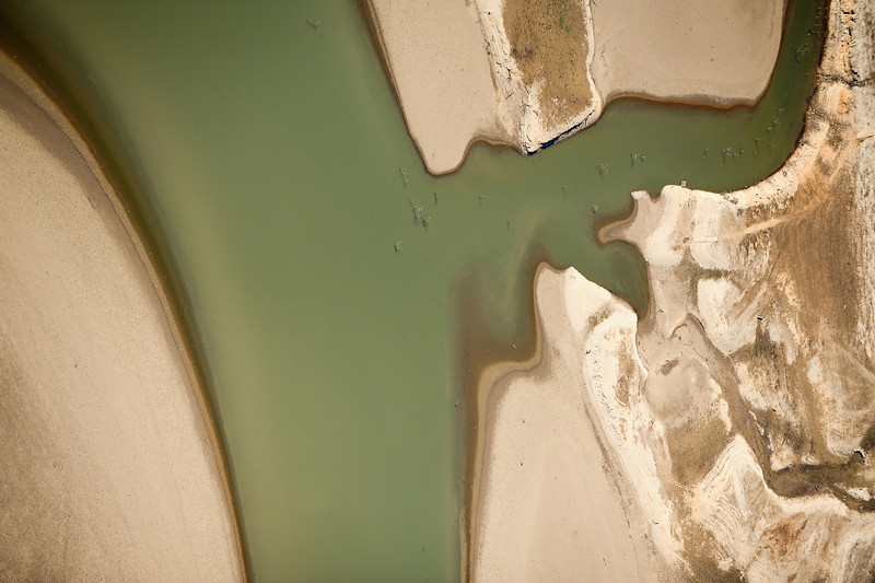 Abstract Aerial Photography<br /> Brownsville, Texas