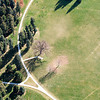 Cheesman Park Aerial Photograph<br /> Denver, Colorado