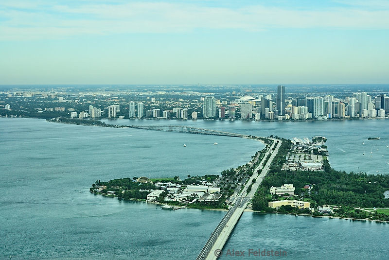 Virginia Key, Rickenbacker Causeway and Brickell (Miami)
