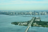 Virginia Key, Rickenbacker Causeway and Brickell (Miami)