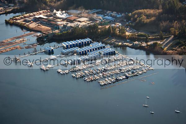 Aerials of Nanaimo